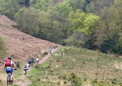 Mountain Bike guiding on Exmoor