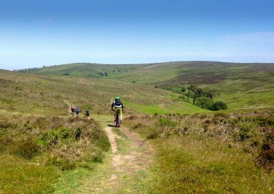 Level 2 MTB leadership on the Quantocks