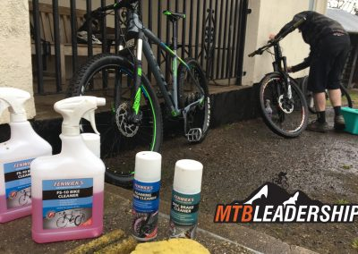 We recommend Fenwicks Bike Cleaning products